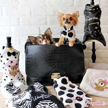 Designer Hundetasche Chic Bag - Black