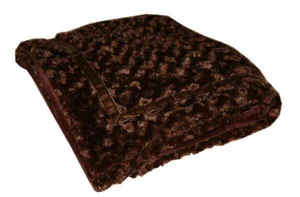 Hundedecke Velvet Chocolate