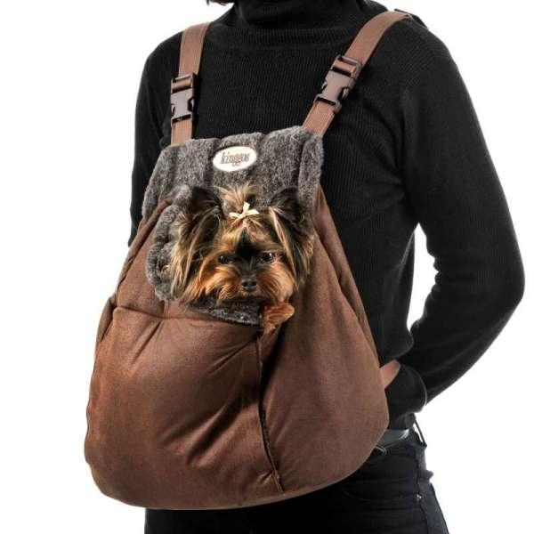 Hunderucksack Sophie - Brown