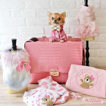 Designer Hundetasche Chic Bag - Rosa