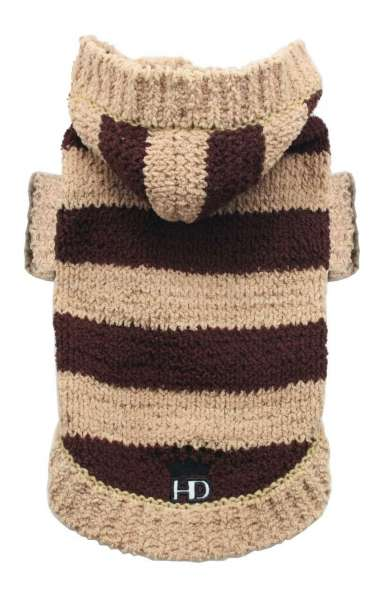 Hunde-Sweater Super Soft Monte -Choco-Creme