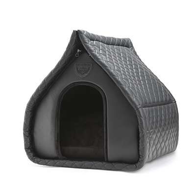 Hundeschlafhöhle Little Villa - Schwarz