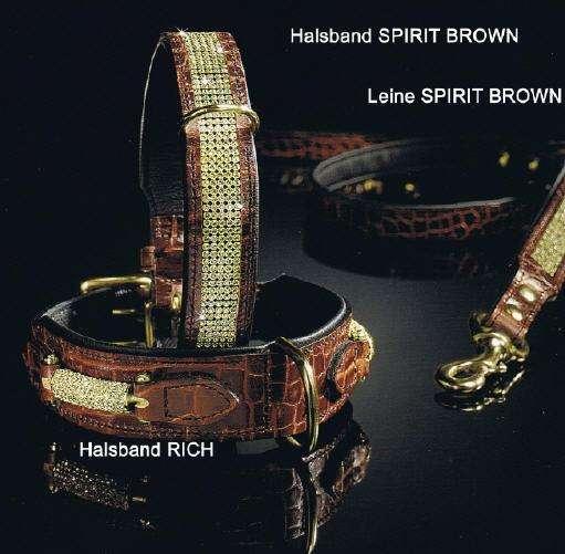 Hundehalsband Spirit Brown