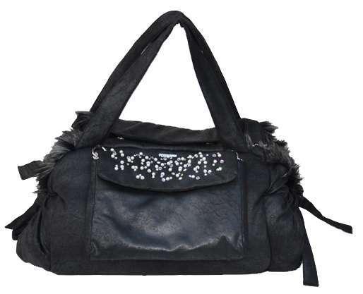 Luxus Hundetasche Mon Cherie´Deluxe 3 in 1- Black