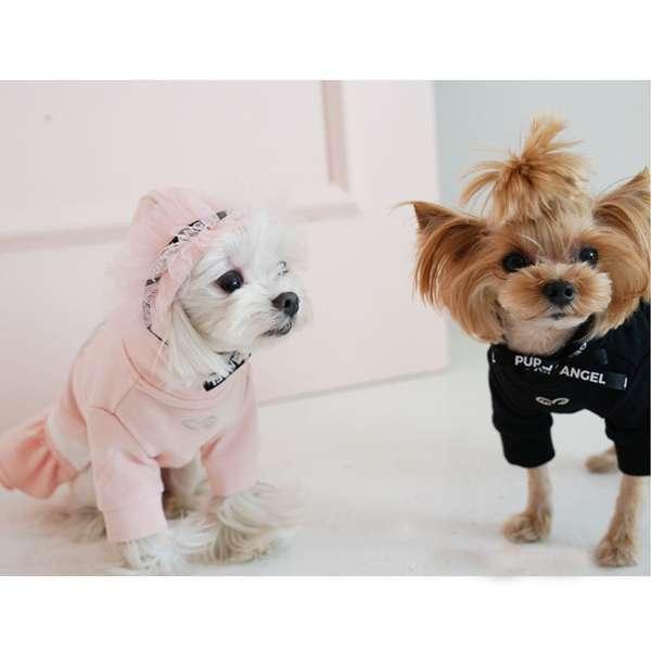 Luxus Hunde-Sweater DIVA Track Skirt - Rosa