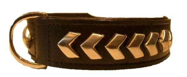 Hundehalsband Roma Black