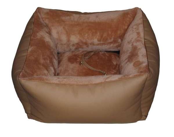 Hunde-Autositz Safety Drive - Camel