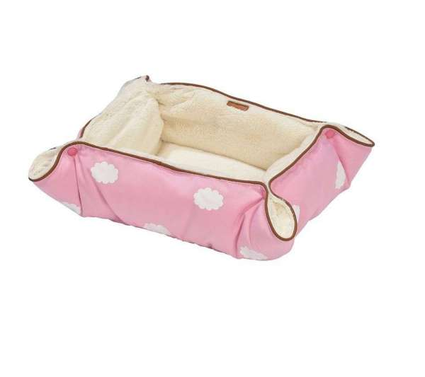 Hundedecke Cloud -Rosa
