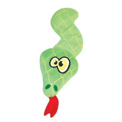 Hundespielzeug Green Snake Plüsch