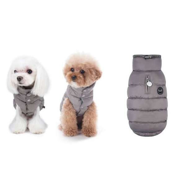 Puppy Angel Hundemantel NEW ALPIN - Grey
