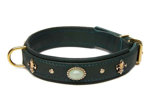 Hundehalsband Little Venice - Racing Green