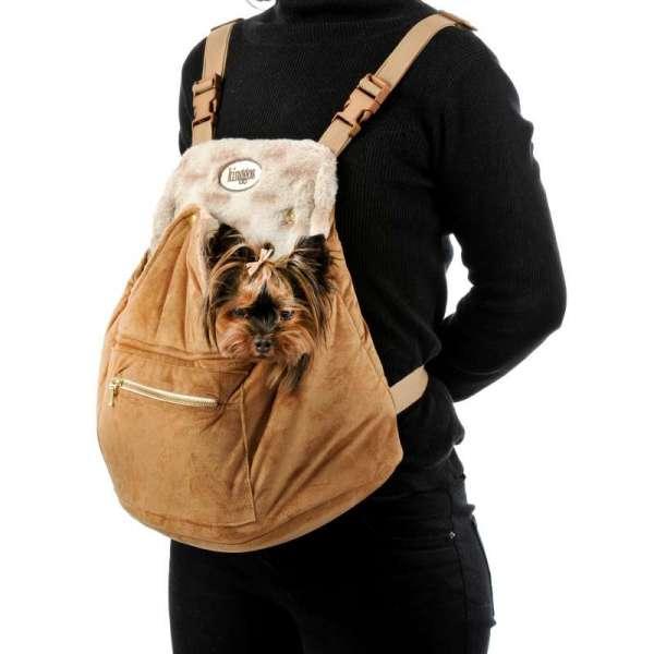 Hunderucksack Caramella