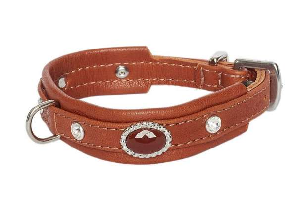 Hundehalsband Mini Venice - Brown