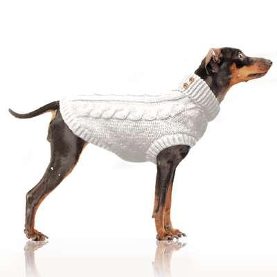 Hundepullover Alister - Ecru